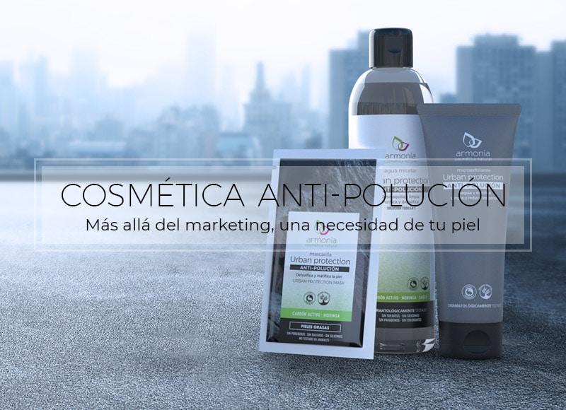 cosmética antipolución