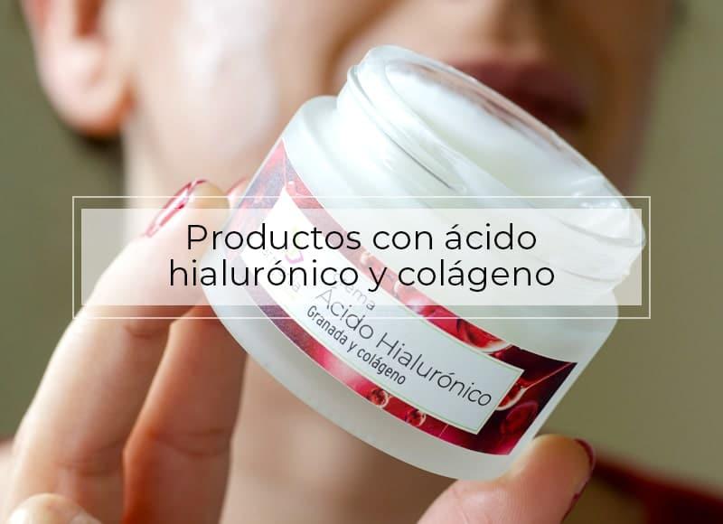 beneficios del ácido hialurónico y colágeno para cosmética