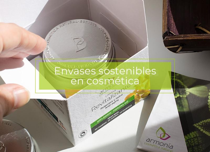 Envases sostenibles en cosmética