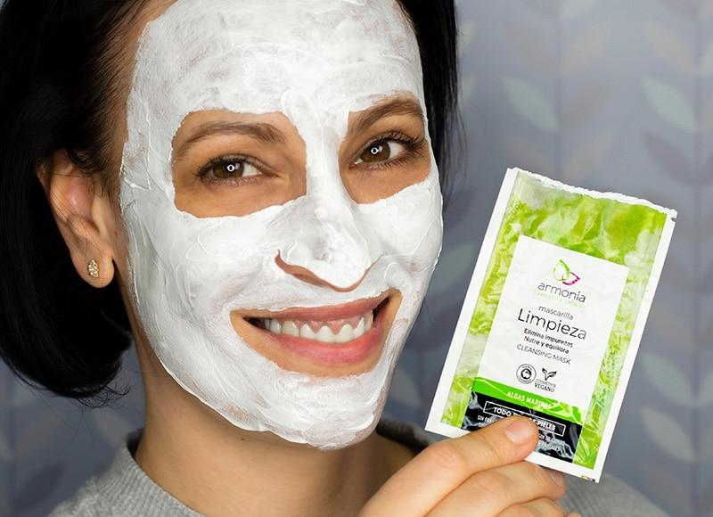 mascarilla facial limpieza